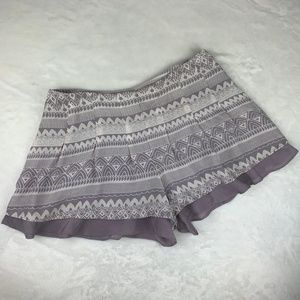 Free People Light and Breezy Purple Shorts Size 4